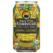 Aqua ViTea Pineapple Lemonade, Probiotic, Kombucha