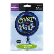 """Anagram Foil Balloon 18"""" Over The Hill"""