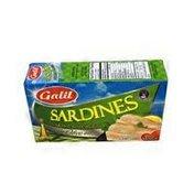 Galil Sardines, Skinless, Boneless, in Olive Oil