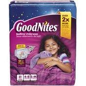 GoodNites Girl's Small/Medium Bedtime Underwear