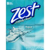 Zest Refreshing Bars, Aqua