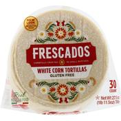 Frescados Tortillas, Gluten Free, White Corn