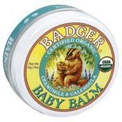 Badger Baby Balm, Organic, Chamomile & Calendula