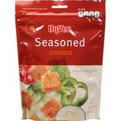 Hy-Vee Croutons, Seasoned, Premium Large Cut