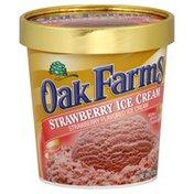 Oak Farms Ice Cream, Strawberry Flavored