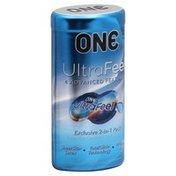 One Super Thin Condom + 2 ml Lube Pouch