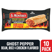 El Monterey Chimichangas Ghost Pepper Bean, Chicken & Rice Family Pack