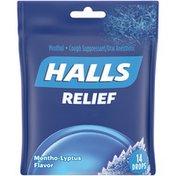 Halls Relief Mentho-Lyptus Cough Suppressant/Oral Anesthetic Drops