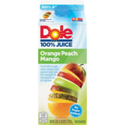 Dole flavored blend of apple, orange, pineapple, peach, grape & mango Chilled  Juice
