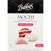 Bubbies Mochi, Gluten Free, Red Velvet