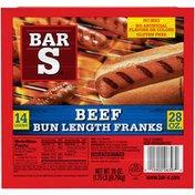 Bar-S Beef Bun Length Bar-S Beef Bun Length Franks