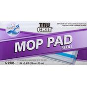 Tru Grit Mop Pad, Refill
