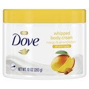 Dove Body Cream Mango And Almond Butters