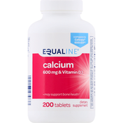 Equaline Calcium, 600 mg, Tablets