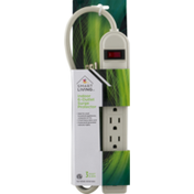 Smart Living Indoor 6-Outlet Surge Protector
