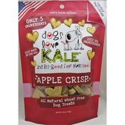 Dogs Love Kale Apple Crisp All-Natural Wheat-Free Dog Treats
