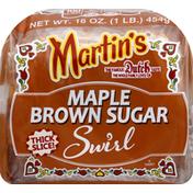 Martin's Potato Bread, Maple Brown Sugar, Swirl