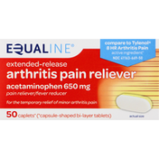 Equaline Arthritis Pain Reliever, 650 mg, Caplets