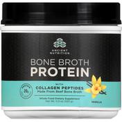 Ancient Nutrition Bone Broth Protein with Collagen Peptides, Vanilla