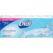 Dial Antibacterial Deodorant Bar Soap, Spring Water