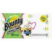 Bounty Paper Napkins, Print, 220 Count  Towels/Napkins