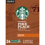 Starbucks Pike Place Medium Roast Coffee K-Cup Pods