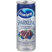 Ocean Spray Sparkling Pomegranate Blueberry Fruit Juice Drink
