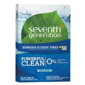 Seventh Generation Dishwasher Detergent Powder Free & Clear
