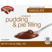 Hannaford Chocolate Instant Pudding Mix