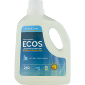ECOS Laundry Detergent, 2X Ultra, Free and Clear HE