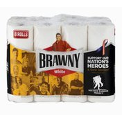 Brawny Paper Towels White - 8 CT