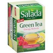 Salada Green Tea Energy Refresh Raspberry Lemon Single Serve Cups Tea