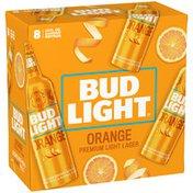 Bud Light Orange Beer Aluminum Bottles