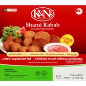 K&N's Shami Kabab, Ground, Gluten Free, Chicken, Patties