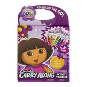 Imagine Ink Nickelodeon Dora the Explorer Carry Along Activity Traveler