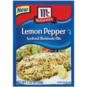 McCormick® Lemon Pepper Seafood Marinade Mix