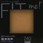Maybelline Fit Me! Set + Smooth Pressed Powder, Golden Beige 240
