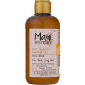 OGX Curl Milk, Curl Quench + Coconut Oil, for Thick, Curly Hair