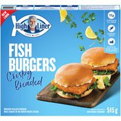 High Liner Crispy Breaded Fish Burgers