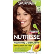 Nutrisse® Garnier Nutrisse 415 Soft Mahogany Dark Brown Nourishing Color Creme Permanent Haircolor