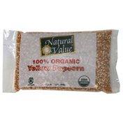 Natural Value Yellow Popcorn, 100% Organic
