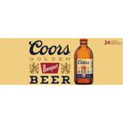 Coors Banquet Lager Beer Btl