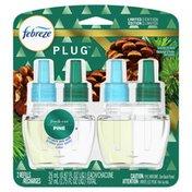 Febreze Odor-Eliminating Fade Defy Air Freshener Refill, Fresh-Cut Pine,