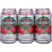 Hansen's Natural Cane Pomegranate Soda