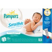 Pampers Sensitive Refill Baby Wipes