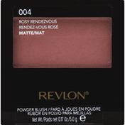 Revlon Powder Blush, Matte, Rosy Rendezvous 004