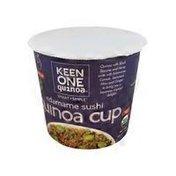Keen One Quinoa Organic Edamame Sushi Quinoa Cup