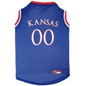 Pets First Size Extra Large Kansas Jayhawks Basketball Jersey