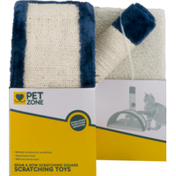 Pet Zone Beam & Bow Scratching Square