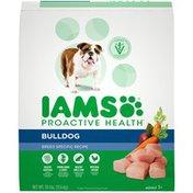 IAMS Proactive Health Bulldog Breed Specific Recipe Adult 1+ Super Premium IAMS Proactive Health Bulldog Breed Specific Recipe Adult 1+ Super Premium Dog